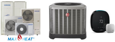 Samsung and Rheem Equipment with Tstat